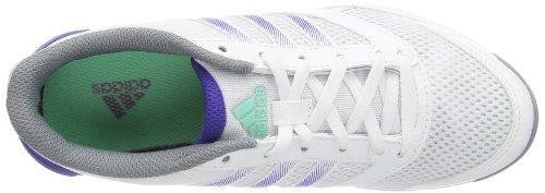 adidas Arianna II G95809 Damen Gymnastikschuhe Weiß (Running White/Prism Mint F13/Blast Purple F13)