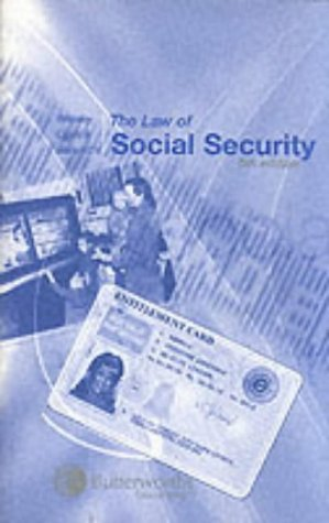 Wikeley Ogus And Barendt's The Law Of Social Security