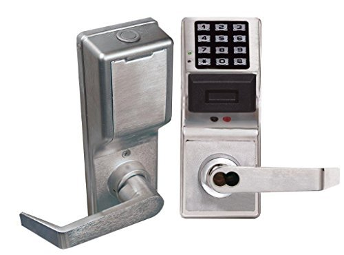 (Alarm Lock Systems Inc. PDL4100IC US26D Trilogy Prox AND Keypad Privacy 26D, For Best Satin Chrome by Alarm)