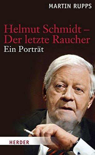 Download Helmut Schmidt - Der letzte Raucher PDF
