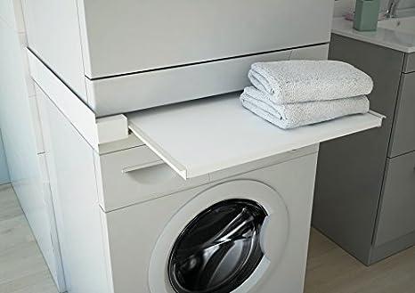 Respekta waschmaschine zwischenboden trockner ablagefach weiß