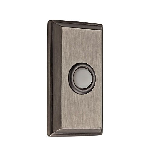 Baldwin 9BR7015-005 Rectangular Bell Button