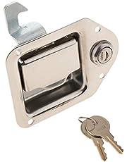 Toolbox Paddle Lock Latch Steel w/ 2 Keys for Camper Trailer Caravan RV Entry Door