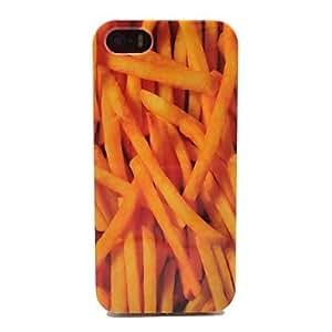 CECT STOCK Frech Fries Patrón tapa dura para iPhone 5/5S