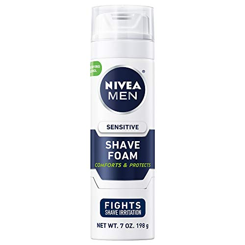 Nivea for Men Sensitive Shaving Foam, 7 Ounce