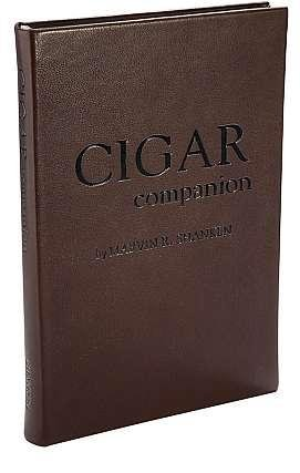 CIGAR COMPANION by Marvin Shanken of Cigar Aficionado Special edition in French Traditional Calfskin leather -