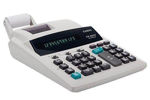 Casio FR-2650T-WC Professional Printing Calculator 12 Digits by Casio