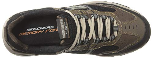 Skechers Sport Men's Vigor 2.0 Trait Memory Foam Sneaker, Brown/Black, 7.5 M US by Skechers (Image #8)