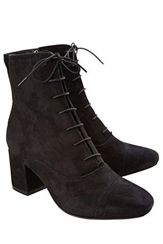 Next Noir Bottes À Lacets Femme rxIXnvr