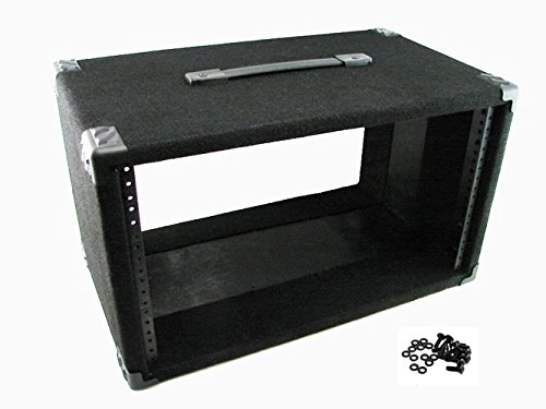 Procraft 6U 12'' Deep Equipment Rack 6 Space - Made in the USA - With Rack Screws