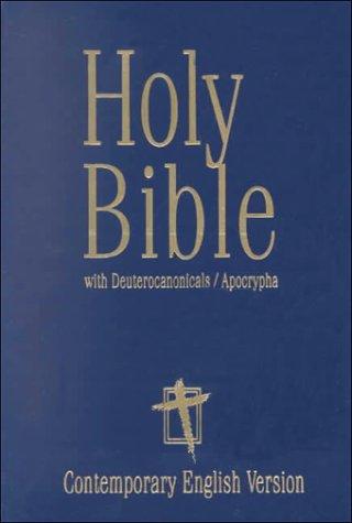 Holy Bible With Deuterocanonicals/Apocrypha: Contemporary English Version pdf epub