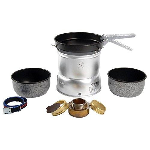 Alu Sturmkocher mit beschichteten T/öpfen und Pfanne Trangia 27-5 UL Ultralight