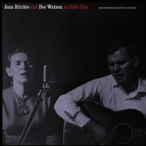 Jean Ritchie and Doc Watson at Folk City