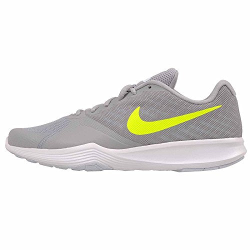 NIKE Women's WMNS City Trainer, Wolf Grey/Volt-Glacier Blue, 9.5 M US
