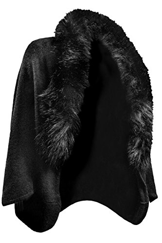 versace-1969-fur-trimmed-shawl-black