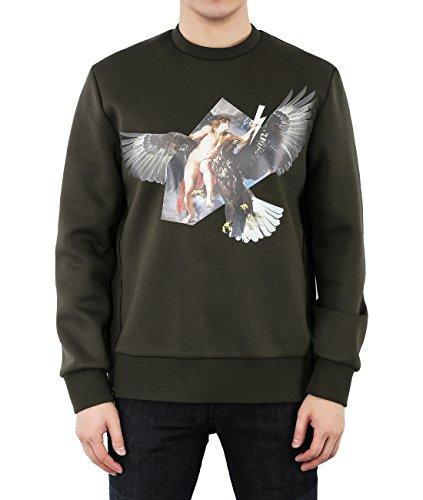 wiberlux-neil-barrett-mens-neoprene-hybrid-print-side-zip-sweatshirt-l-olive