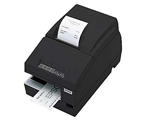 Epson C31C283A8791 TM-U675 Receipt-Slip Printer USB Interface MICR Autocutter and No DMHub - Requires PS180 - Color Cool Dark Gray