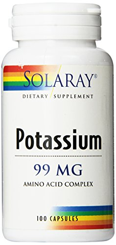 Solaray Potassium Supplement, 99 mg, 100 Count For Sale