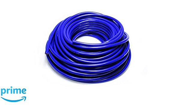 HPS 1//2 ID Red high temp reinforced silicone heater hose 100 feet roll Max Temperature Rating: 350F Max Working Pressure 80 psi Bend Radius: 2-1//2
