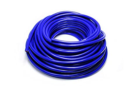 Max Temperature Rating: 350F HPS 3//8 ID Clear high Temp Reinforced Silicone Heater Hose Set of 2 Bend Radius: 1-1//2 Max Working Pressure 80 psi