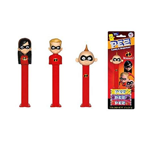 Pez Incredibles Ii Asst ()