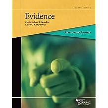 Black Letter Outline on Evidence