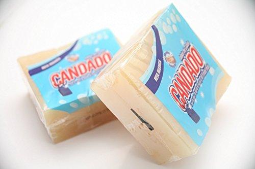 10 JABON DE CUABA CANDADO SOAP LAVA ROPA QUITA EL SUCIO Y RINDE MAS