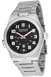 Victorinox Swiss Army Active Night Vision Mens Black Dial Stainless Steel Watch 241130