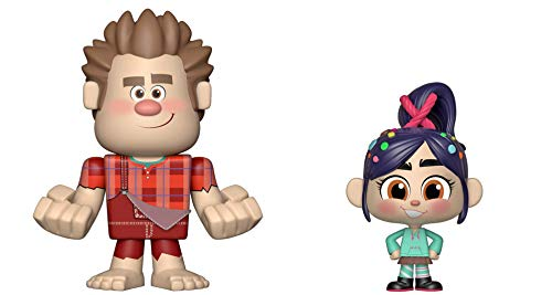 Funko Vynl: Wreck It Ralph 2 - Ralph & Vanellope Toy, Multicolor