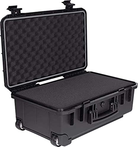BST PFC-05 - Caja de transporte impermeable IP67 con ruedas: Amazon.es: Instrumentos musicales
