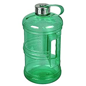 3 Liter BPA-Free Water Bottle with Stainless Steel Cap - Green
