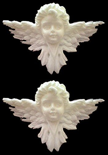 1 Piece Cherub mold Sugarcraft Molds Polymer Clay Cake Border Mold Soap Molds Resin Candy Chocolate Cake Decorating Tools