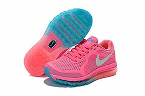 Edad niño de amortiguación Air Max zapatos calzado Trail carretera zapatos de deporte, Niños, rosa, UK12.5=EUR31=20CM