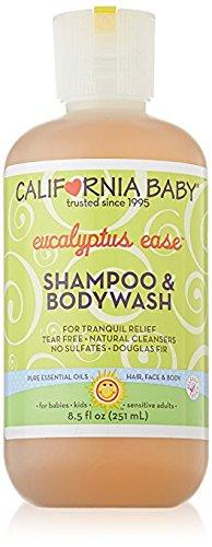California Baby Eucalyptus Ease Shampoo & Bodywash - 8.5 oz