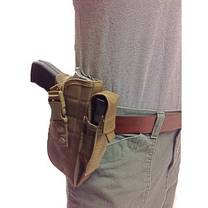 (Nylon Gun Holster for your Hip, Side or Tactical Vest. Fits Beretta 92,96.40 S&W, U22 Neos 22LR)