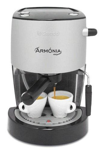 Saeco Armonia Easy Máquina de café espresso, color negro/plata: Amazon.es: Hogar