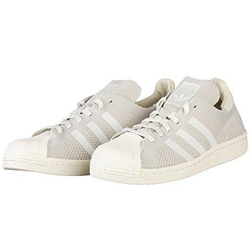 Adidas Superstar 80S PK - S75671 - Colore: Bianco-Grigio - Taglia: 48.6