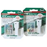 Littelfuse ATO10BP 10A ATO Fuse, (Pack of 5)