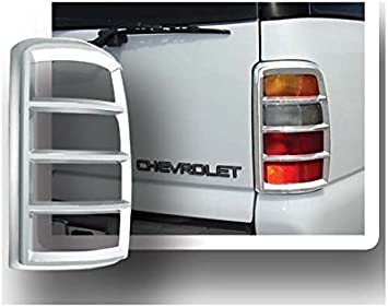 2000-2006 CHEVY SUBURBAN TAHOE Chrome Taillight COVERS Bezel Trims Overlays