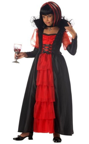 Regal Vampira Costume - Child Costume - LARGE(10-12) (Regal Vampira Girl Costume)