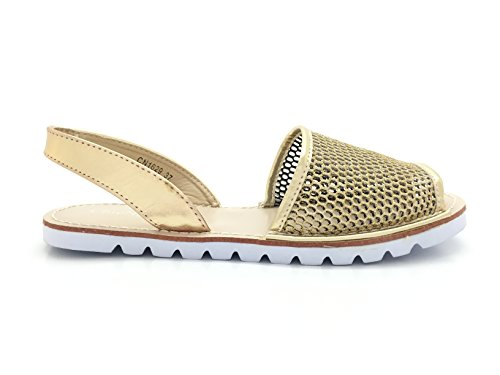 CHIC NANA ,  Damen Sandalen Gold - gold