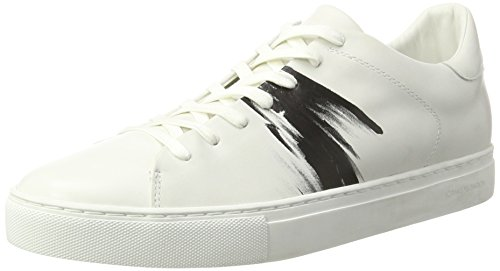 CRIME London Herren Beat Sneaker, Weiß (Weiß), 41 EU