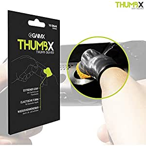 GAIMX Thumbx Thumb Guard - Anti Slip & Anti Sweat Thumb Cover Finger Gloves for Gamer