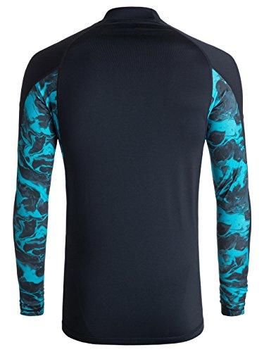 Quiksilver Men's Slash Long Sleeve, Navy Blazer, S by Quiksilver (Image #1)