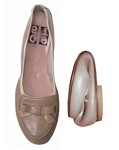 1960Travel 40 Beige 21565 EU Ballerine Donna Rwr1RqnZTx