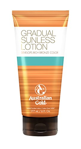 Australian Gold Gradual Sunless Tanning Lotion 177ml Car
