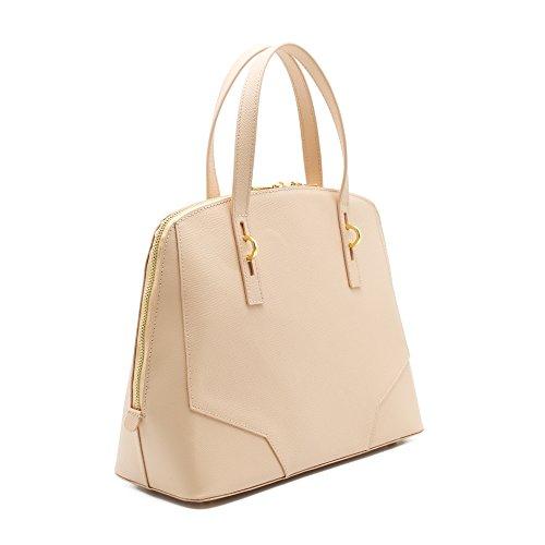 MANSUVIL le donne dalla borsa di cuoio, borsa marrone chiaro, cuoio
