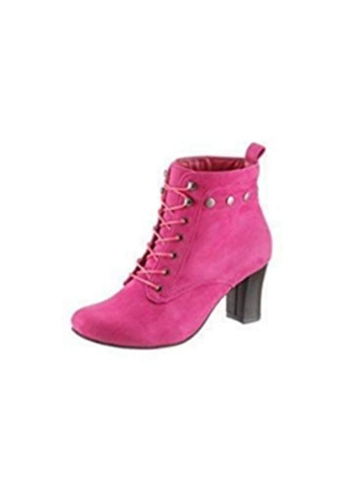 Andrea Conti Botines trachtenstiefelette Von - Fucsia, 35 EU: Amazon.es: Zapatos y complementos