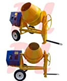 13 HP 9 CUBIC CEMENT MIXER 12V Electric Gas-oline 55 MPH