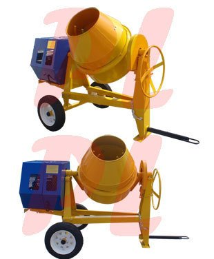 13 HP 9 CUBIC CEMENT MIXER 12V Electric Gas-oline 55 MPH by Generic